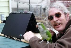 laptop papagal