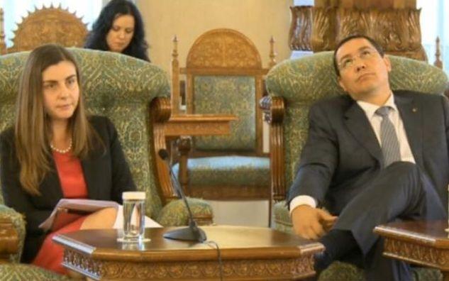 ''Glume'' pe pagina de Wikipedia a lui Ponta: ''Victor ...