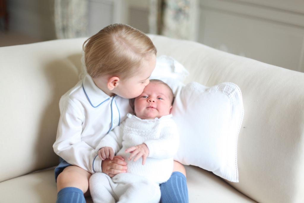 Printesa Charlotte va fi botezata cu apa din raul Iordan