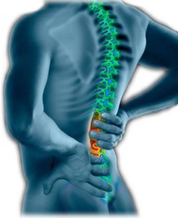 durere și arsură la nivelul spatelui și picioarelor