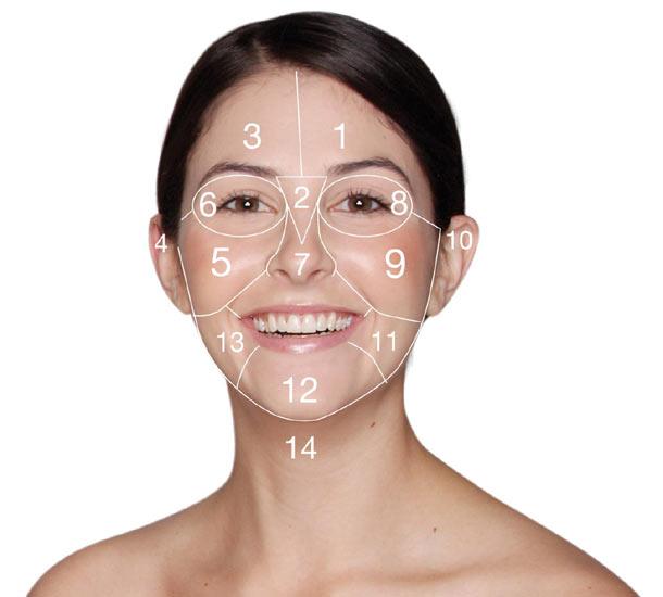 articulații și pete roșii de pe față