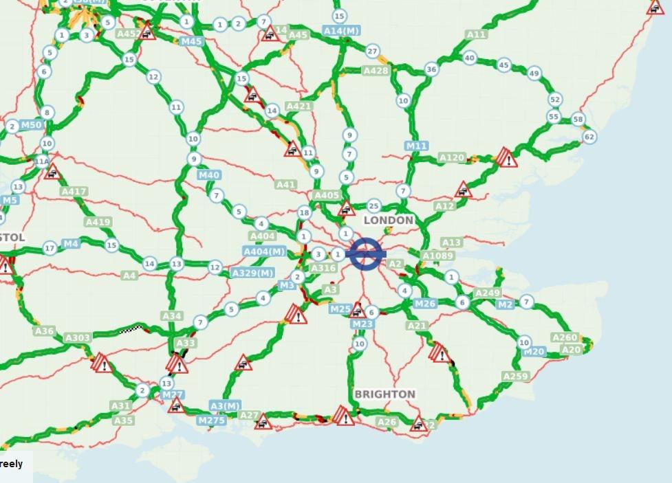 Comentarii ordonate dupa voturi -Alerta pe o autostrada ...